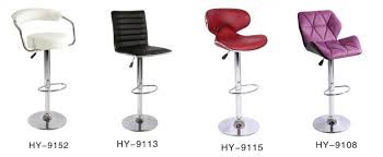 leather reclining bar stools chair bar stool high chair with wheel