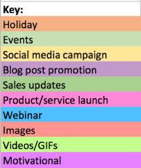 how to create a social media calendar free social media calendar