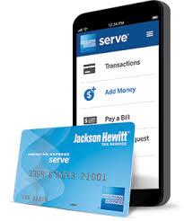 prepaid card for prepaid card for your jackson hewitt tax return american
