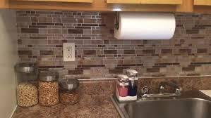 kitchen backsplash peel and stick kitchen amazing peel and stick glass tile backsplash stick