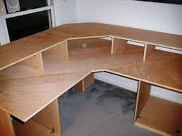 Desk L Diy Desk L Shaped Desk Plans