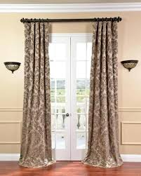 extra wide blackout curtains long home design drop for lights in