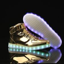 light up shoes gold high top wholesale high top led shoes high top light up shoes gold high