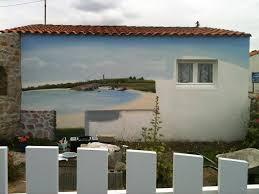 Deco Entree Exterieur Fresques Murales Décor Peint Sur Façade Peinture Murale Chambre