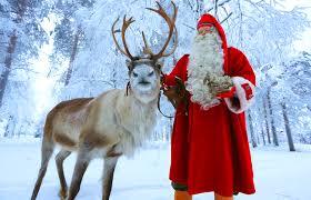 santa claus reindeer santa claus village