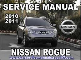 nissan rogue 2010 2011 service manual car service youtube