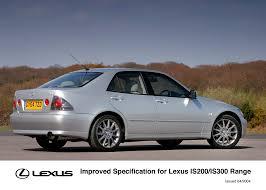 lexus sedan 2004 enhanced specification for lexus is200 is300 range lexus uk