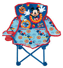 Old Metal Folding Chairs That Fold In Amazon Com Disney Mickey Make Your Own Fun Fold N U0027 Go Chair Toys