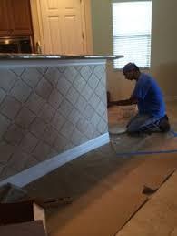 brick travertine tile for kitchen bar wall ideas kitchen