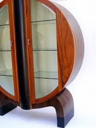 Art Deco Round Display Cabinet Vamp Furniture New Vintage Furniture At Vamp 24 January 2014