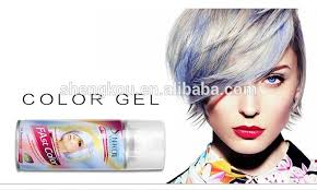 temporary shiney hair color spray dye 125ml for party styling