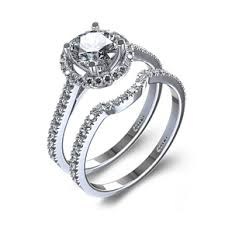engagement rings set pre set pave engagement rings for sale pave