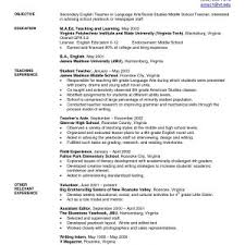 science resume exles sle resume high school science new resume exles