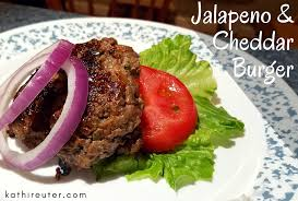 d uter en cuisine jalapeno and cheddar cheese burgers with lettuce bun clean