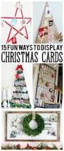 15 fun ways to display christmas cards eighteen25
