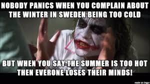 Sweden Meme - winter vs summer in sweden meme on imgur
