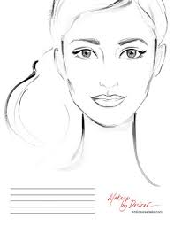 she u0027s a beauty another face chart for makeup artist desiree