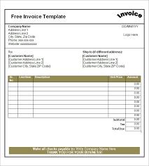 printable invoices printable invoices free printable invoices