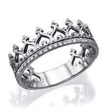 Crown Wedding Rings by Platinum Tiara Wedding Band 39 Diamonds Ring 0 17 Carat