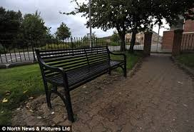 Park Bench Scene Gateshead Father Of Four Les Liddle U0027murdered U0027 As He Waited For