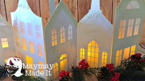 cricut make it now christmas village christmas in july 2016