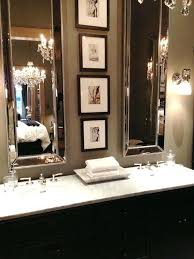 bathroom mirror decorsmall but mighty powder rooms that make a