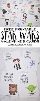 wars valentines day cards valentines day gifts free printable wars valentines day cards