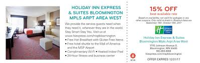 Comfort Suites Coupons 2017 Mall Of America Coupons And Bloomington Coupons
