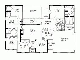 house with 5 bedrooms best 25 5 bedroom house plans ideas on 4 bedroom