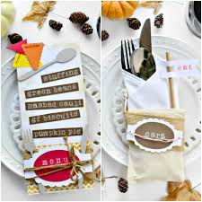 Thanksgiving Table Setting Ideas by A Fun Thanksgiving Table Setting Idea Fork And Beans