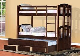 Bunk Bed With Trundle And Drawers Attractive Bunk Bed With Trundle Bunk Bed With