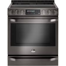 lg studio 6 3 cu ft self cleaning slide in electric convection