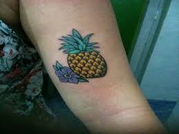 11 pretty pineapple tattoos