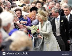 royal wedding marriage of prince charles and camilla parker