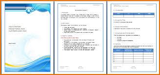 Microsoft Words Templates ms word report template pertamini co