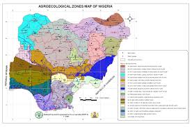 Map Of Nigeria Africa Agro Ecological Zone Trending Now