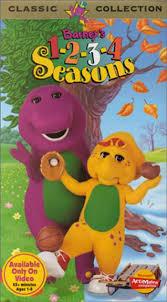 Credits To Barney And The by Barney U0027s 1 2 3 4 Seasons Video 1996 Imdb