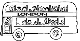 london bus coloring page free printable coloring pages