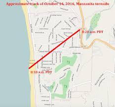 Tornado Map Manzanita Tornado Wikipedia