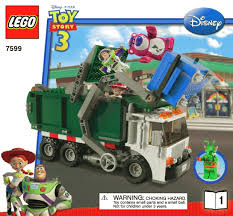 lego toy story 3 exclusive limited edition 7599 garbage truck