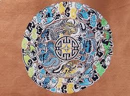 china designs auspicious design on chinese silk