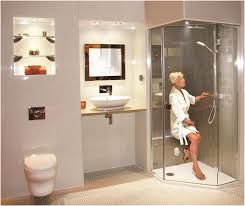 Walk In Shower With Bench Seat New Bathing Booth Concept For The Elderly And Disabled