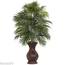 silk plants areca palm silk plants indoor artificial tropical palm tree nearly