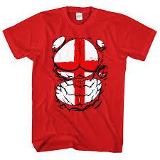 England Flag Jpg Ripped Tshirt England Flag Body T Shirt Funny St Georges Day