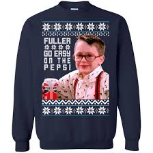 home alone sweater kevin fuller go easy on the pepsi sweater icestork
