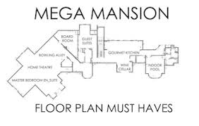 mansion floor plans mega mansion floor plans the must amenities supreme auctions