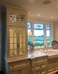 white leaded glass kitchen cabinets somers stained glass archive home leaded glass