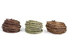 brown floral wire green rustic wire 18 70