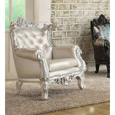 Silver Accent Chair Silver Accent Chair Set