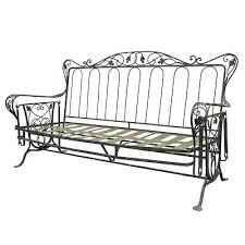 Salterini Patio Furniture Wrought Iron Glider Outdoor Furniture Vintage Wrought Iron Outdoor